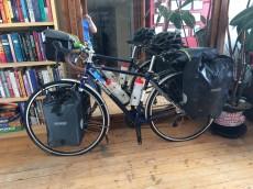 Loading the bike